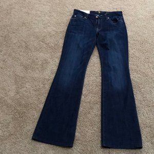 NWt! 7 FOR ALL MANKIND Sz 28 Kimmie Bootcut Jeans
